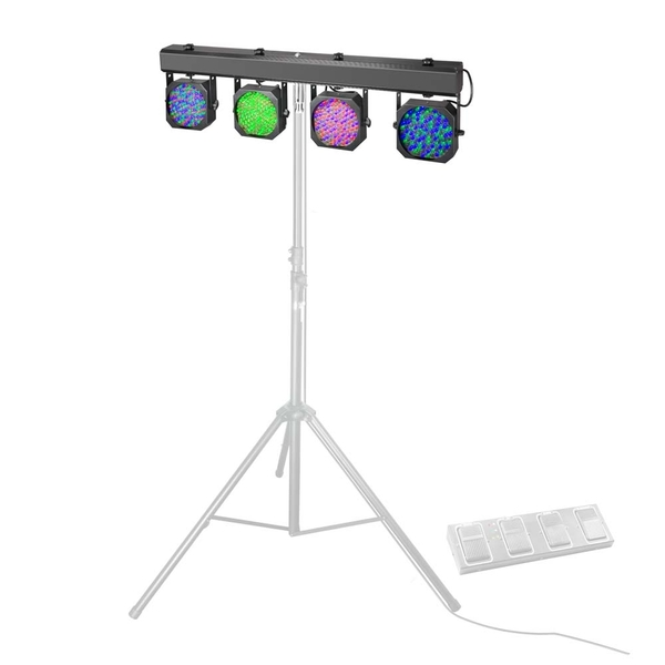 Cameo Multi PAR 1 LED Lichtanlage inkl. Transport-Case