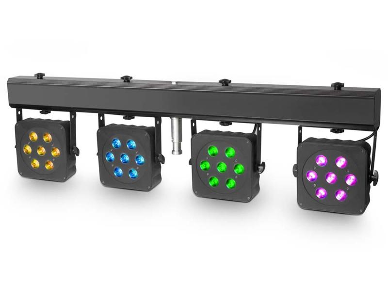 Cameo Multi PAR 2 LED Lichtanlage