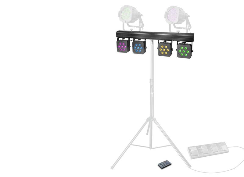 Cameo Multi PAR 3 LED Lichtanlage