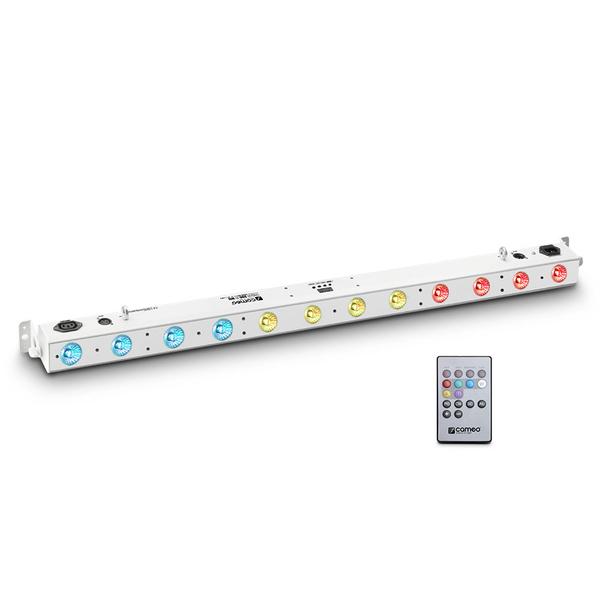 Cameo TRIBAR 200 IR WH 12x3W TRI LED Bar weiß inkl. Fernbedienung