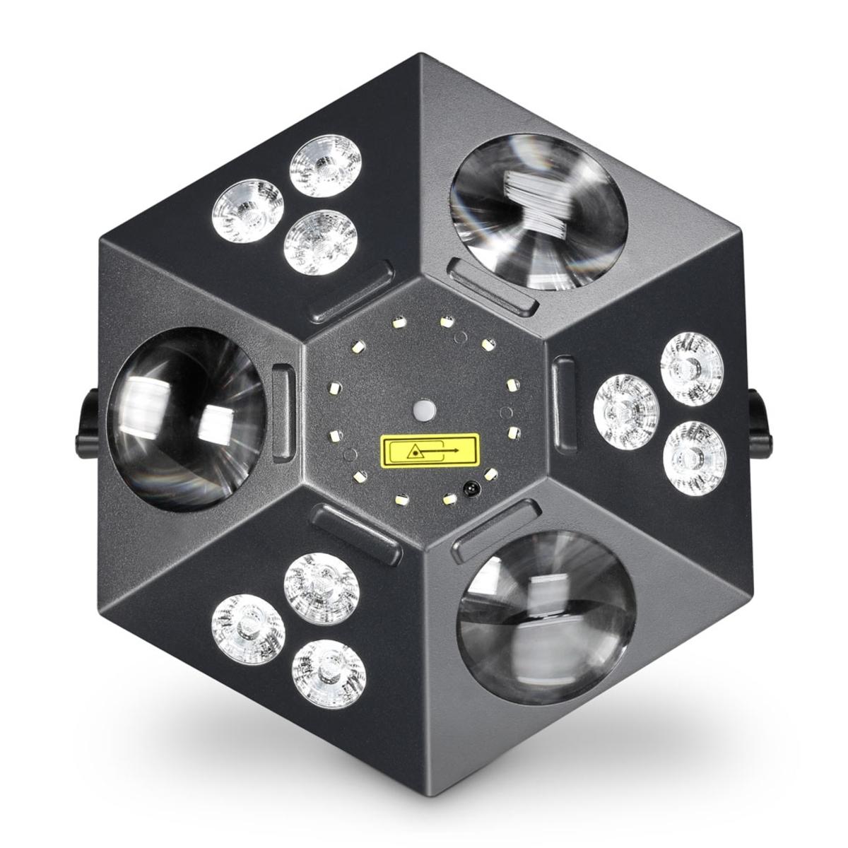 Cameo Uvo 5-in-1 Led-effektscheinwerfer Eindrucksvolle Lichtgestaltung Dj: Einzelne Beleuchtungen
