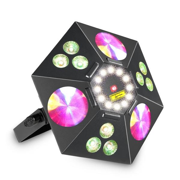Cameo UVO 5-in-1 LED-Effektscheinwerfer