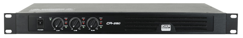 DAP-Audio CA-3150 3 Channel Compact Amp