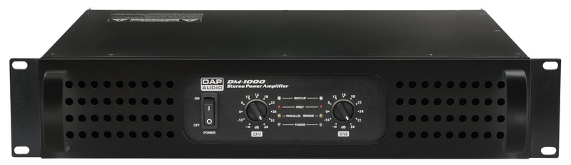 DAP-Audio DM-1000 2x 500W Class-D amplifier