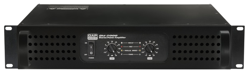 DAP-Audio DM-2000 2x 1000W Class-D amplifier