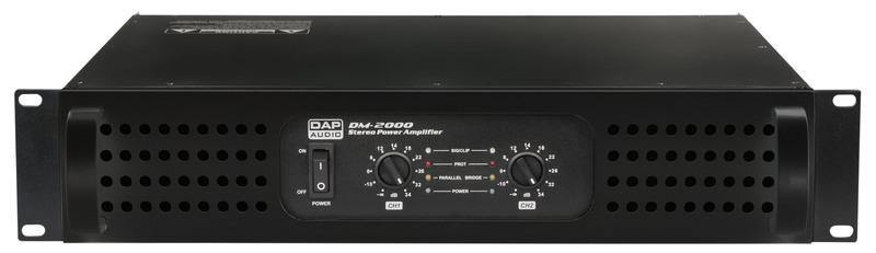 DAP-Audio DM-2000 2x 1000W Class-D amplifier