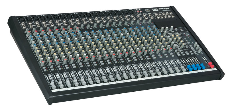 DAP-Audio GIG-244CFX 24 Channel live mixer incl. dynamics & DSP