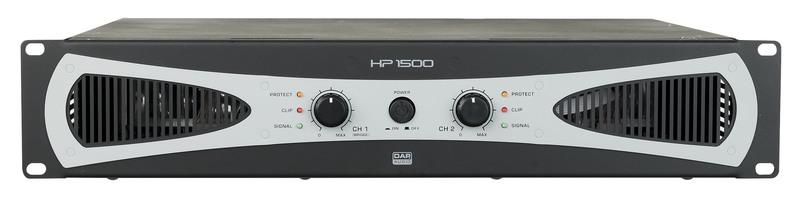 DAP-Audio HP-1500 2U 2x 750W Amplifier / Endstufe