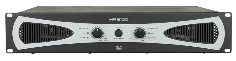 DAP-Audio HP-2100 2U 2x 1000W Amplifier / Endstufe
