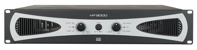DAP-Audio HP-3000 2U 2x 1400W Amplifier / Endstufe