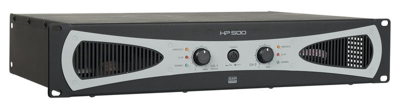 DAP-Audio HP-500 2U 2x200W Amplifier / Endstufe