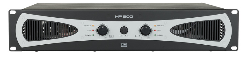 DAP-Audio HP-900 2U 2x 450W Amplifier / Endstufe