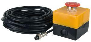Showtec Remote Interlock Not-aus Schalter mit 10m Kabel, Groß
