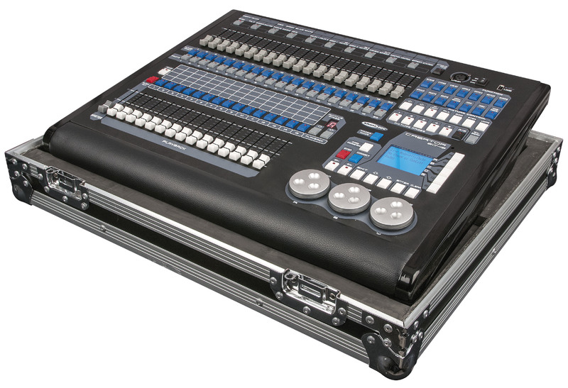 Showtec Creator 2048 Moving Light Controller inkl. Flightcase