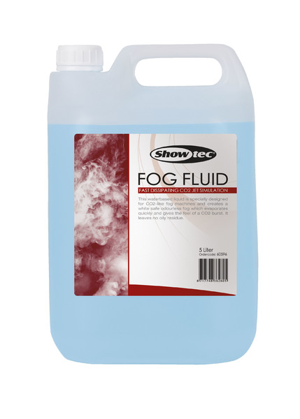 Showtec Fog Fluid Fast Dissipating 5 Liter, CO2 jet simulation