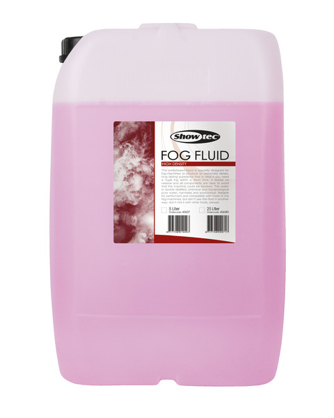 Showtec Fog Fluid High Density 25 Liter