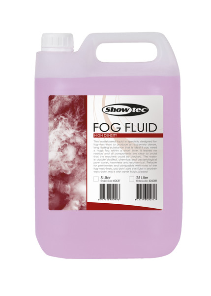 Showtec Fog Fluid High Density 5 Liter