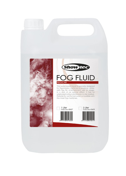 Showtec Fog Fluid Regular 5 Liter