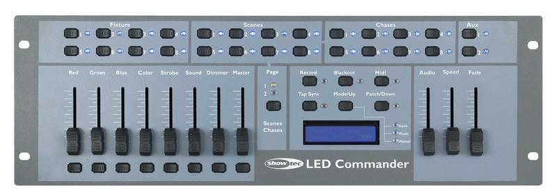 Showtec LED Commander LED-Parcan controller