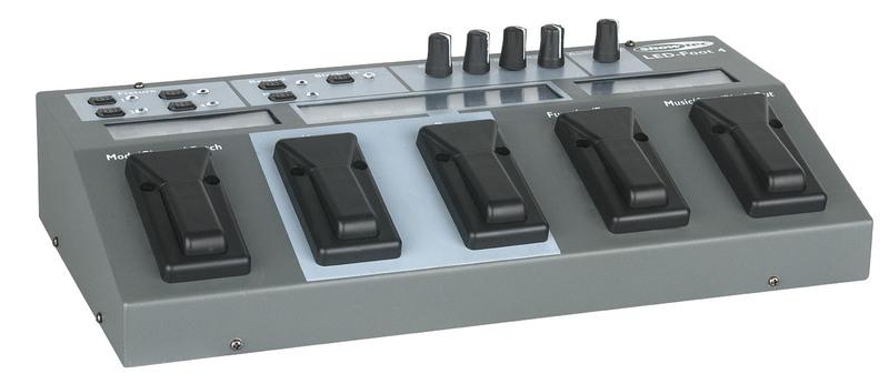 Showtec LED-Foot 4 4 Channel patchable LED par controller