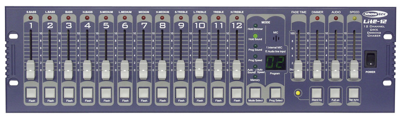 Showtec Lite-12 12CH. Programmable DMX Controller