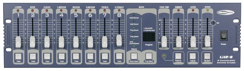 Showtec Lite-8 8CH. Programmable DMX Controller