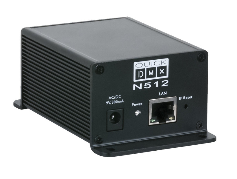 Showtec Quick DMX N512 Network dongle, 512 channels