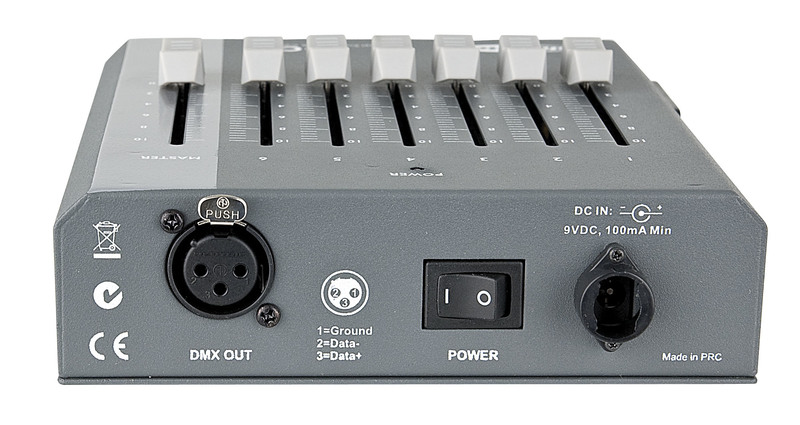 Showtec SDC-6 6 channel DMX controller