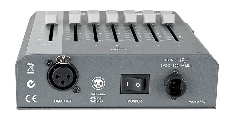 Showtec SDC-6 6 channel DMX controller
