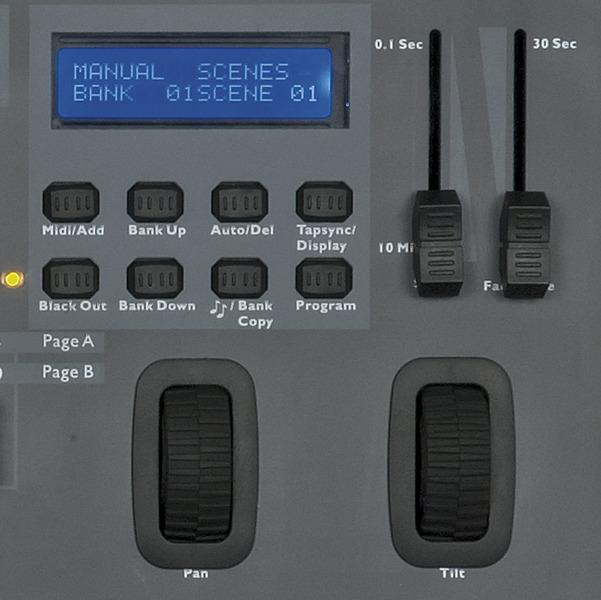 Showtec SM-16/2 16 Channel Lighting Desk