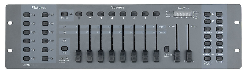 Showtec SM-8/2 16 Channel Lighting Desk